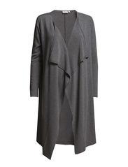 Jocop 1 cardigan - Asphalt melange