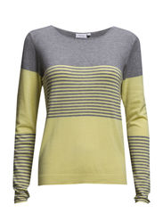 Zuvic 34 Pullover - Limelight mix