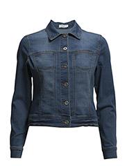 Larivet 1 Jacket - Simple blue denim