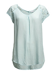 Madaisy 1 Top - Bleached Aqua