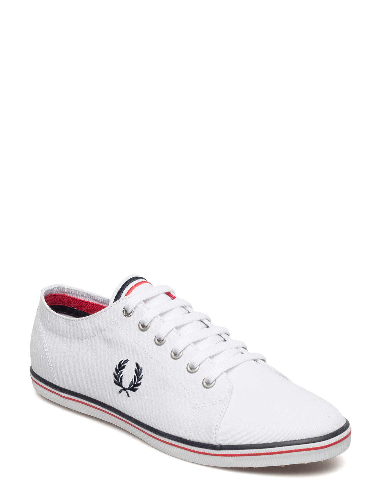 Kingston Twill Fred Perry Sneakers til Herrer i hvid