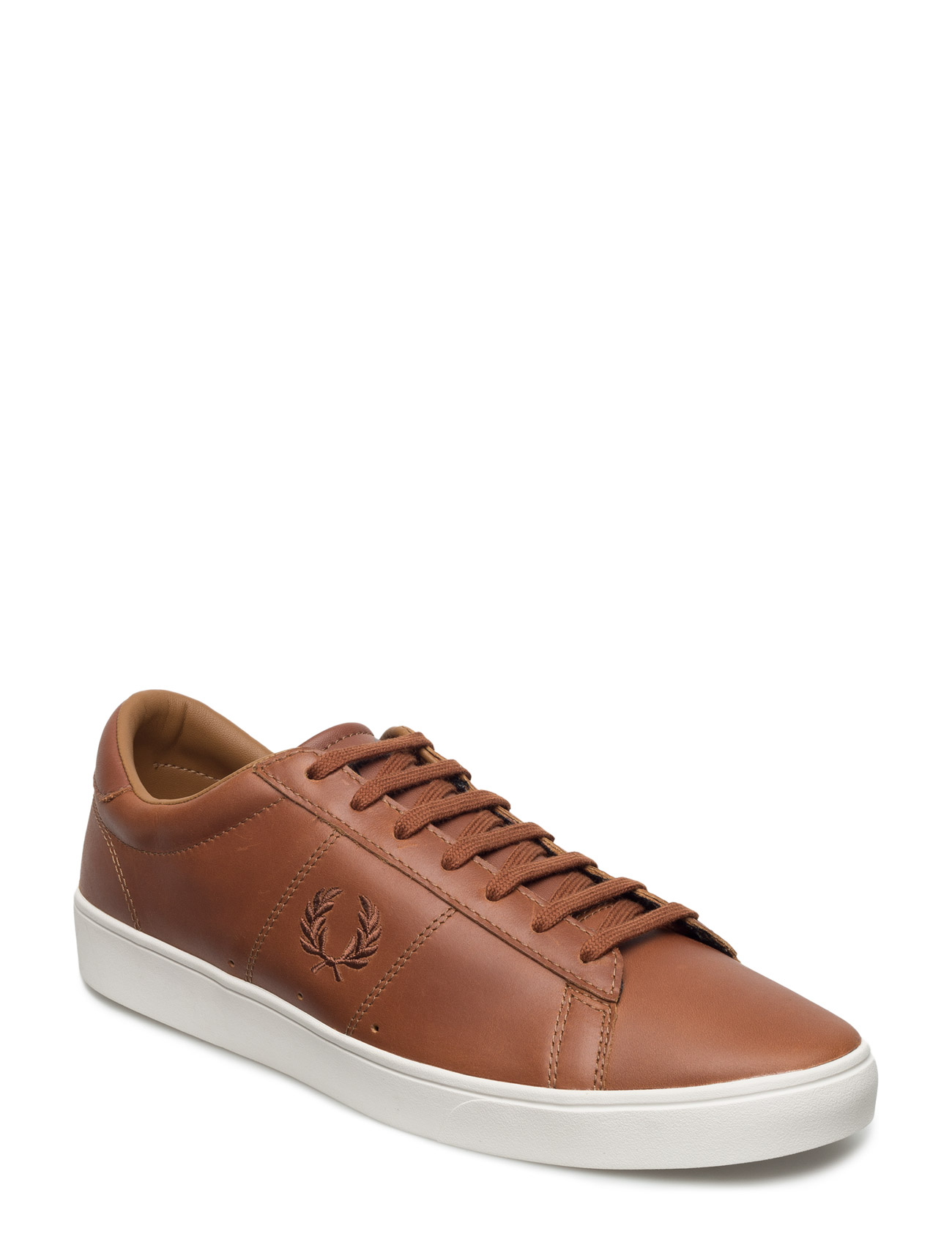 Spencer Waxed Lth Fred Perry Sneakers til Herrer i Tan