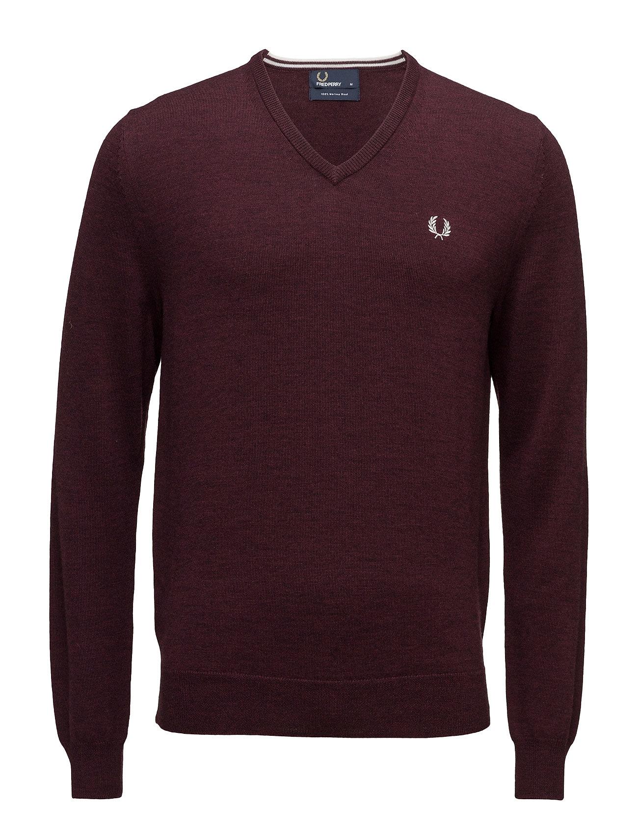 Classic V Neck Sweater Fred Perry V-halsede til Herrer i