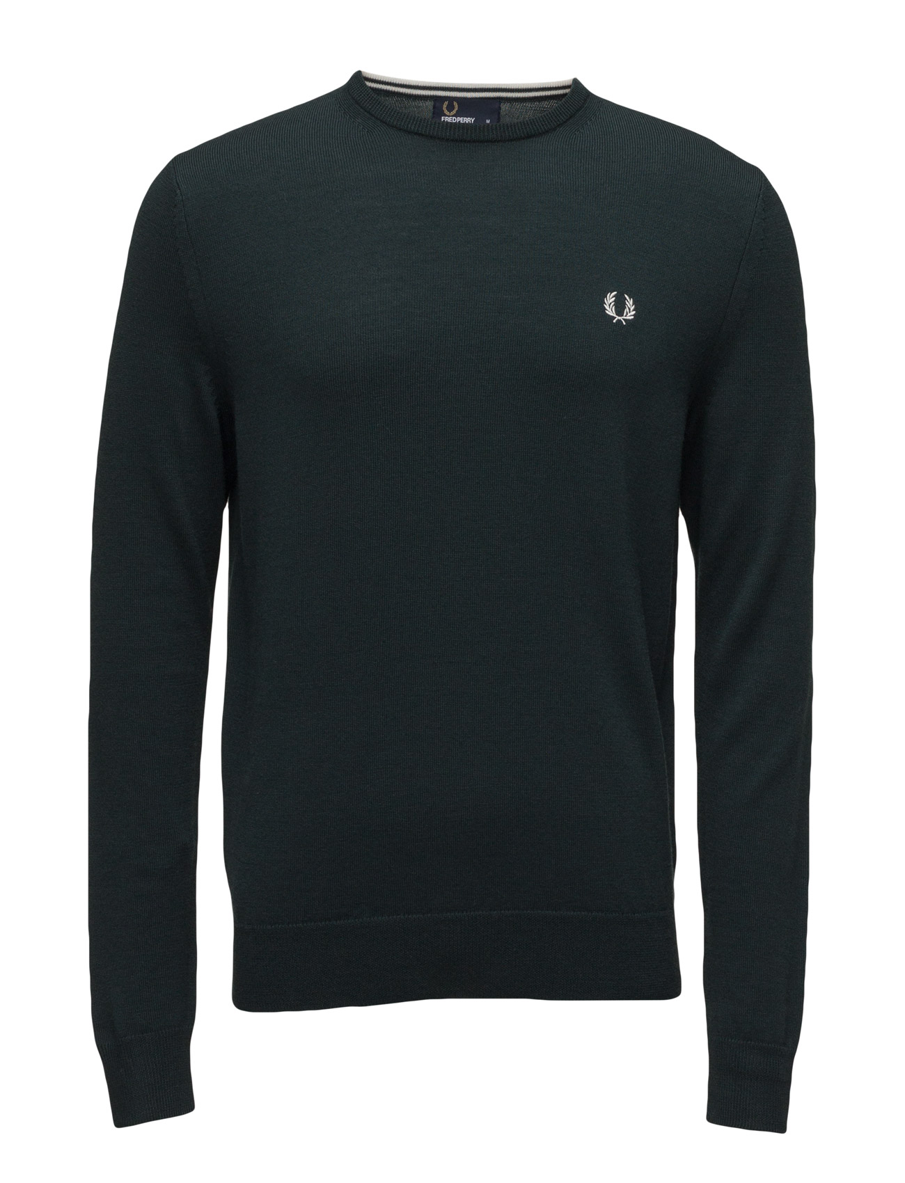 Classic Crew Neck Fred Perry Rundhalsede til Herrer i