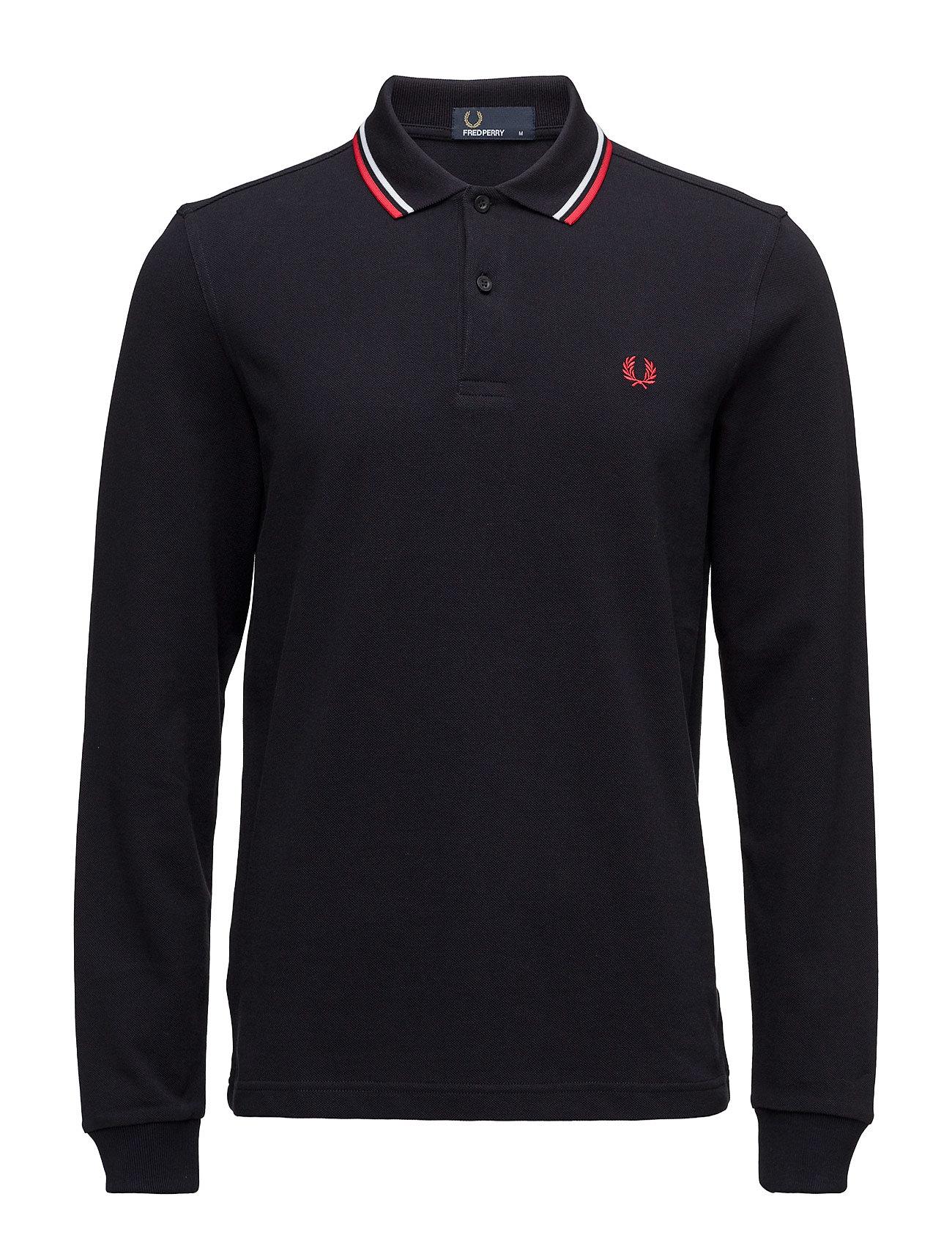 Ls Twin Tipped Shirt Fred Perry Længærmede polo t-shirts til Herrer i