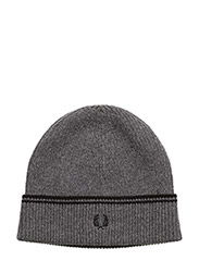 LAMBSWOOL BEANIE - 282 CHARCOAL