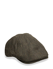 HERRINGBONE FLAT CAP - 426 IVY