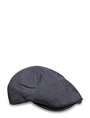 PRINCE OF WALES CAP - 491 CHARCOAL