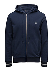 LOOPBACK HOODED SWEAT - D78 DARK NIGHT