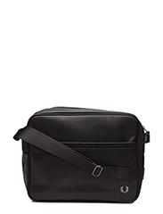 TEXTURE SHOULDER BAG - 102 BLACK