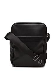 PIQUE TEXTURE SIDE BAG - 102 BLACK