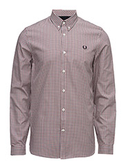 BASKETWEAVE SHIRT - 395 DARK CARBON