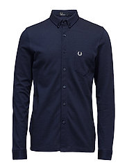 OXFORD PIQUE SHIRT - 126 MEDIEVAL BLUE