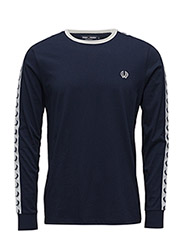 LS RINGER T-SHIRT - 266 CARBON BLUE