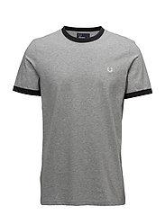 Ringer T-Shirt - STEEL MARL