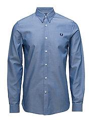 Tape Detail Shirt - MID BLUE