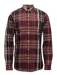 Tartan Shirt - RICH RED