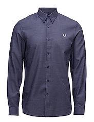 Micro Square Shirt - CARBON BLUE