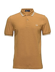 TWIN TIPPED FP SHIRT - E28 BURNT AMBER