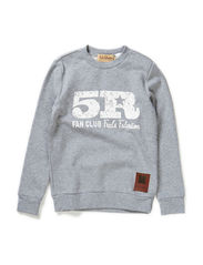 Sweat 5R boy - Pale greymarl