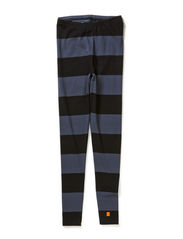 Stripe leggings girl - Ink