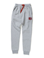 Sweat baggy pants boy - Pale greymarl