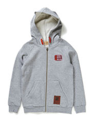 Sweat jacket boy - Pale greymarl