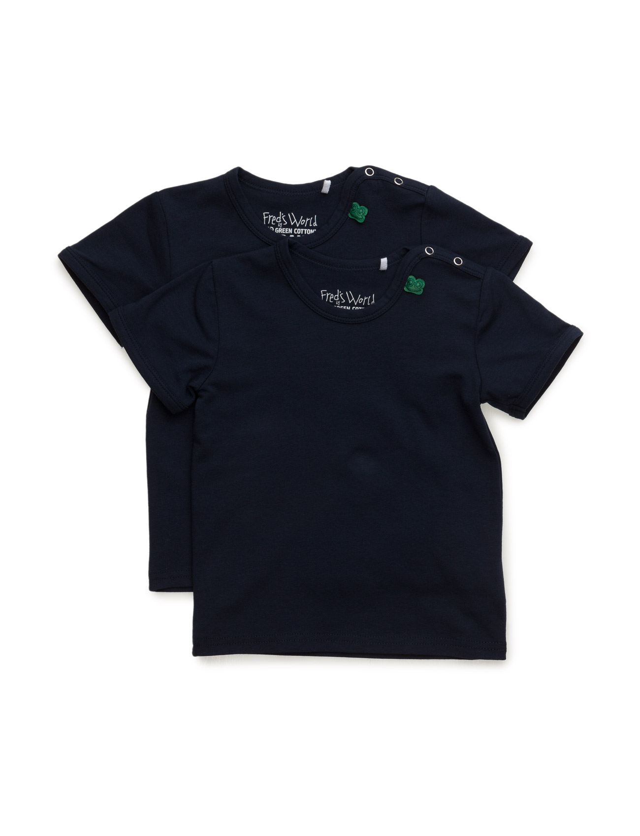 Alfa S/Sl T 2-Pack Noos Baby Freds World Kortärmad T-Shirts