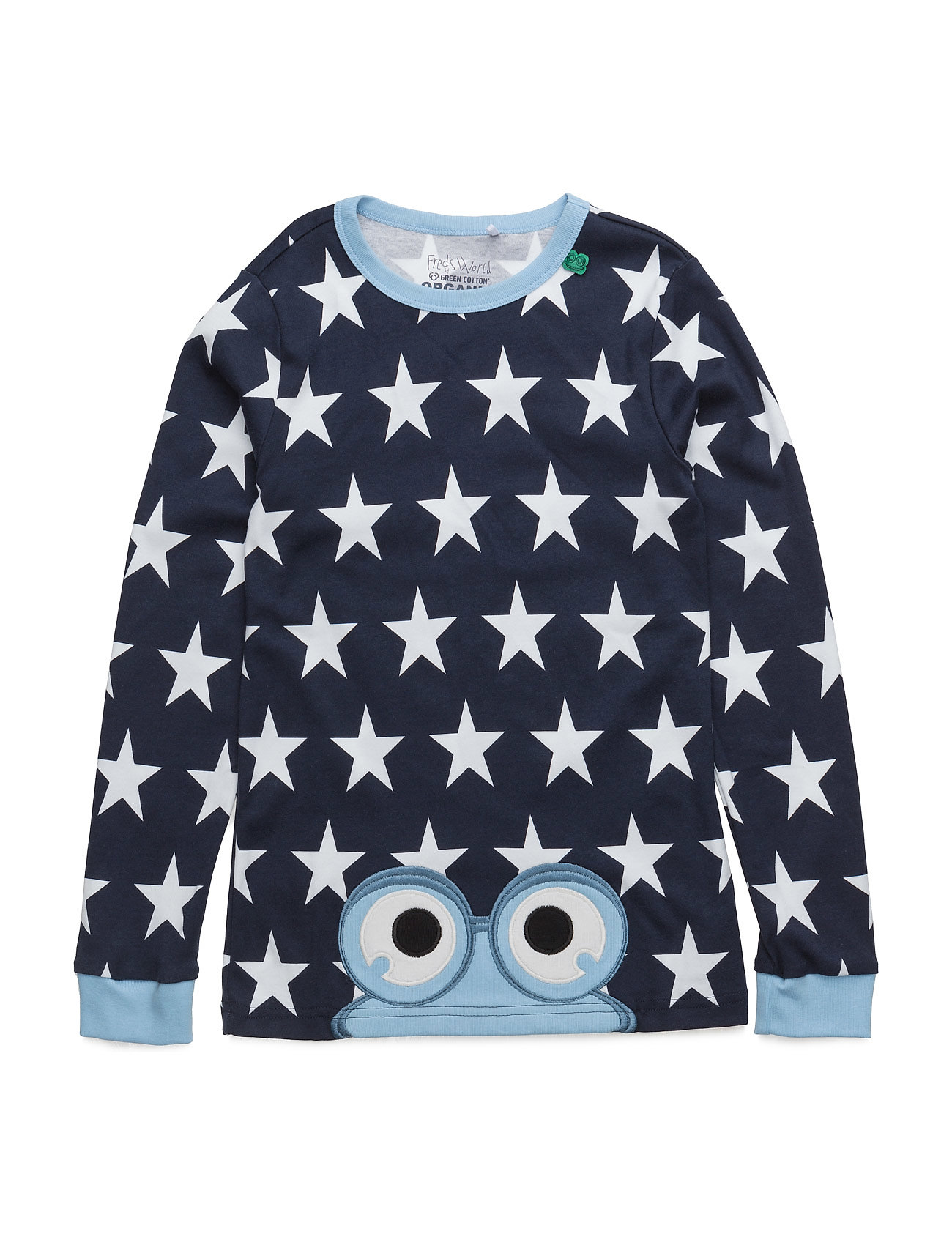 Star Peep T Boy Freds World Langærmede t-shirts til Børn i Blå