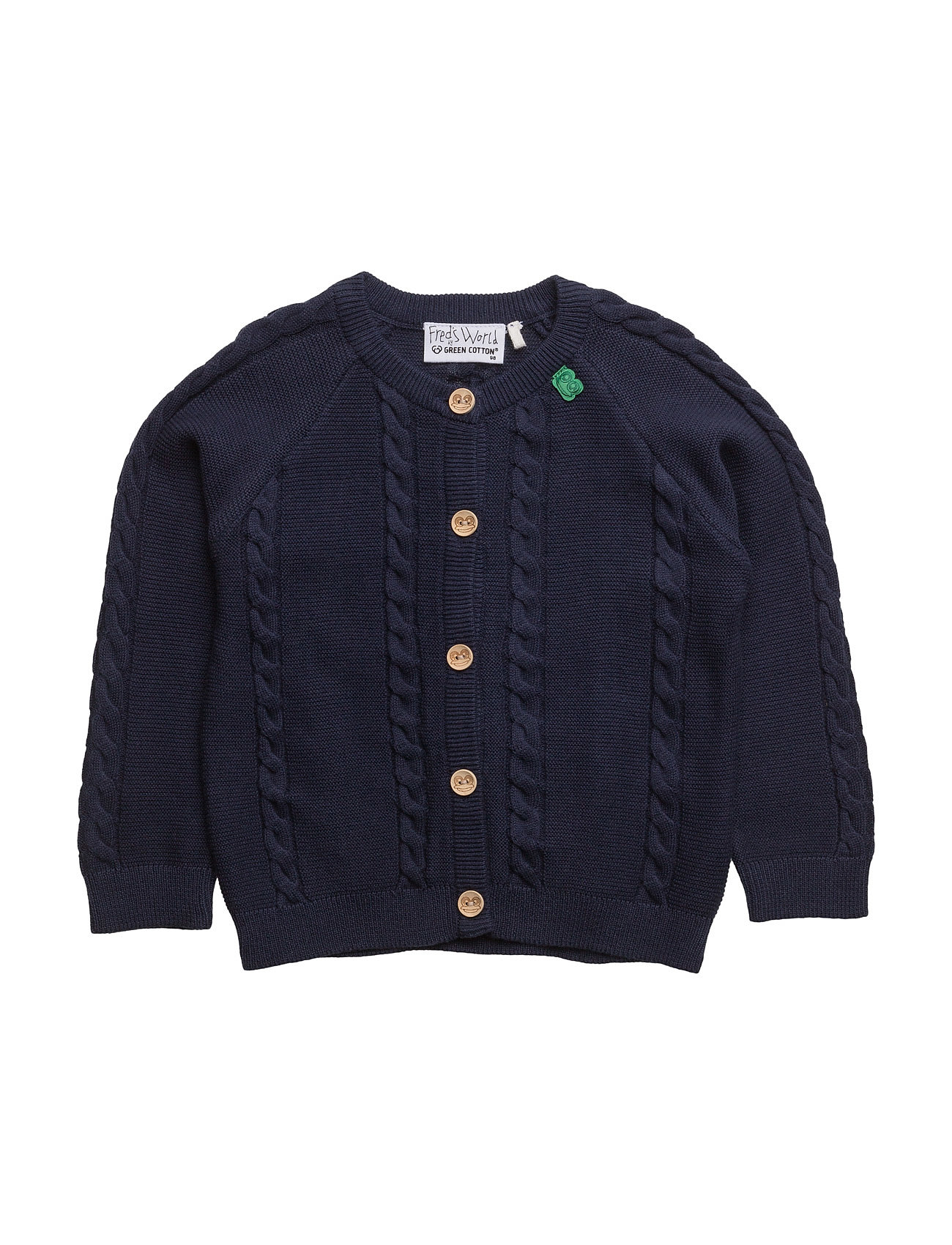 freds world – Cable knit cardigan baby fra boozt.com dk