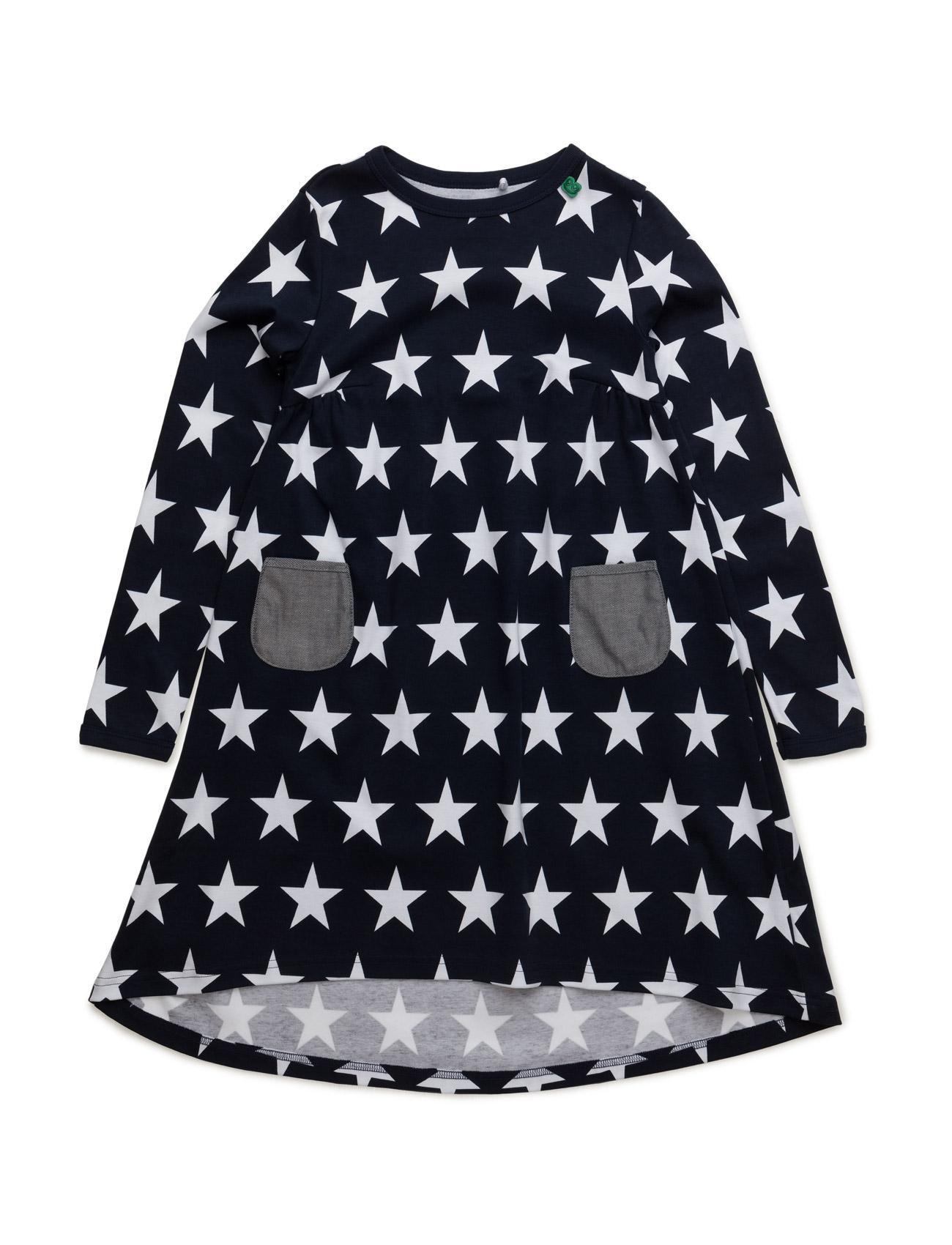 Star L/Sl Dress Freds World Kjoler til Børn i Navy blå