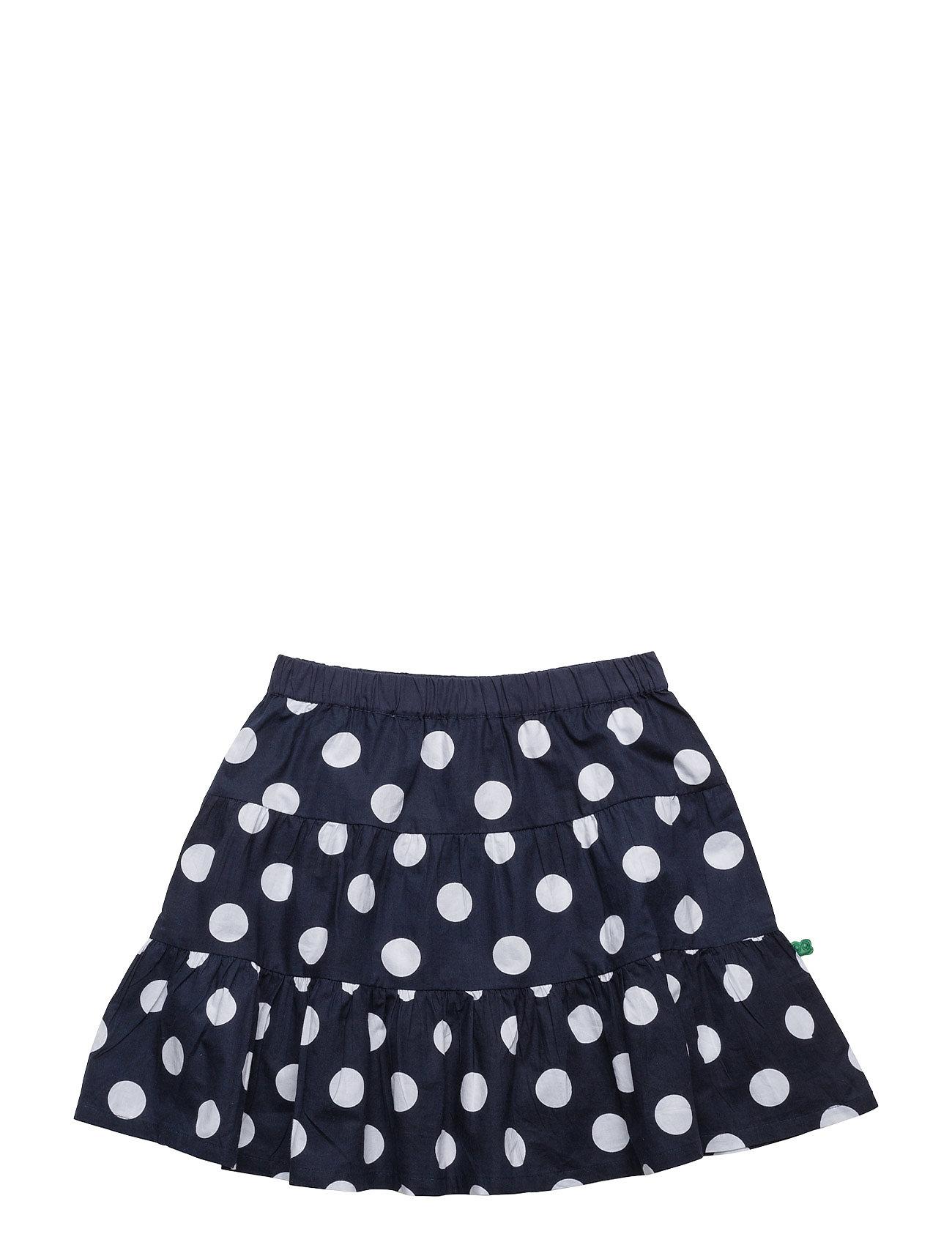 Spot Poplin Skirt Freds World Nederdele til Børn i Navy blå