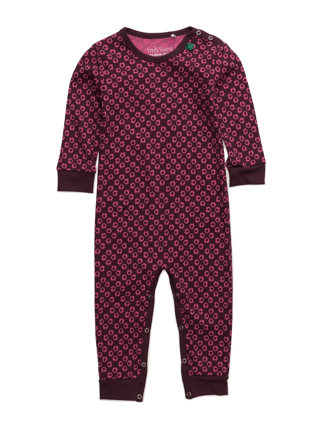 My I Mini Bodysuit Freds World Langærmede bodies til Børn i Vin