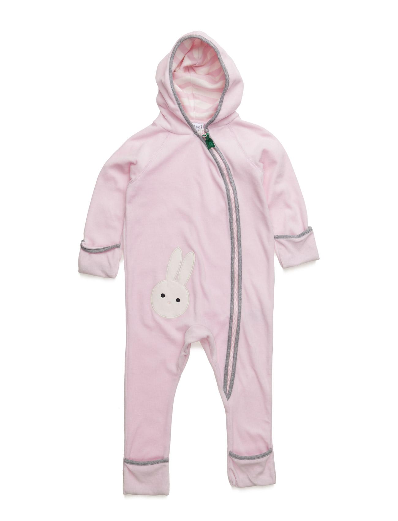 Bunny Velvet Suit Freds World  til Børn i Rose