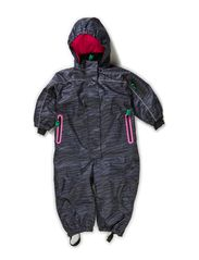 Outdoor suit zebra kids - Pink