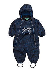 Star suit baby - NAVY