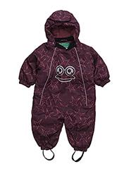 Star suit baby - WINE