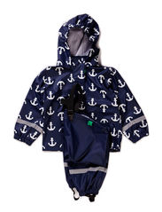 Rainwear set, waterpressure 8.000mm - Navy