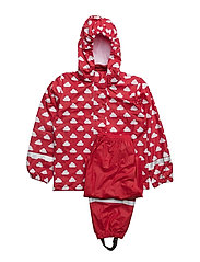Rainwear set - RED