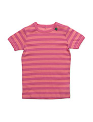 Stripe s/sl T - PINK