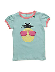 Pineapple front s/sl T - PASTEL
