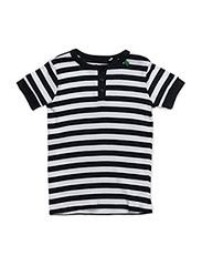 Sailor stripe granny T - NAVY