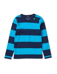 Big stripe T boy - Navy