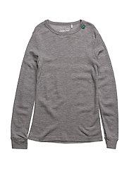 Wool T - PALE GREYMARL