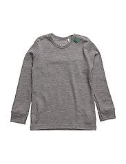 Wool T baby - PALE GREYMARL