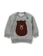Rescue sweatshirt boy baby - Pale greymarl