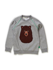 Rescue sweatshirt boy - Pale greymarl