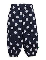 Spot poplin pants baby - NAVY