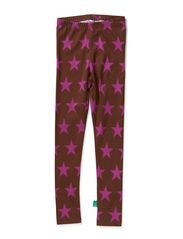 Star leggings - Purple