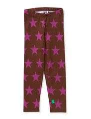 Star leggings baby - Purple